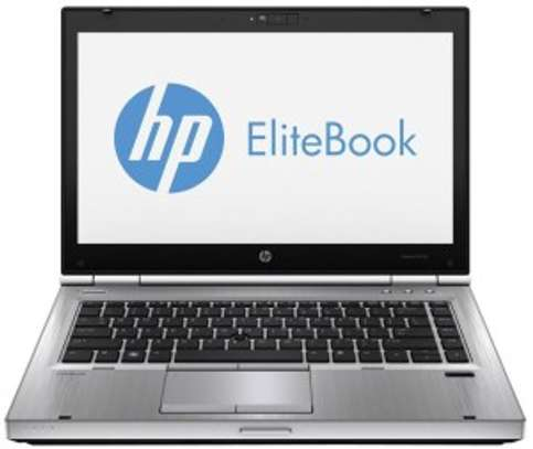 HP Elitebook 8470P 14 Inch Laptop (Core i5 3rd Gen/4GB/250GB) Silver image 1