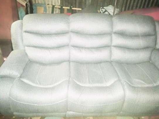 Sofa made by hand wood image 1