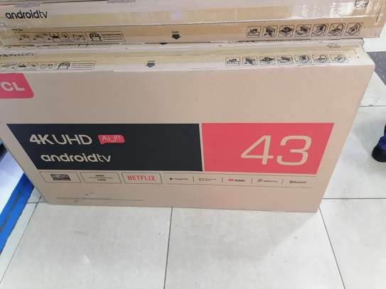 Tcl 43 Inches Smart Android 4kTv image 1