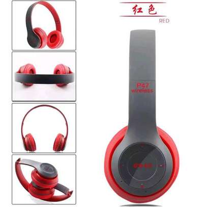 P47 Quality wireless bluetooth headphones image 2