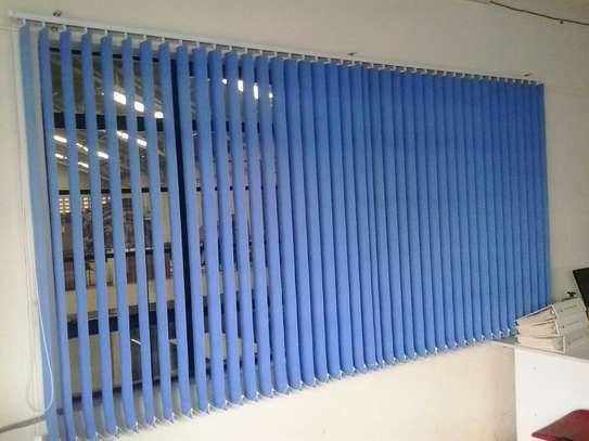 Office blinds blue image 1