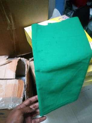Green towels image 1