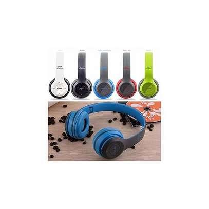 P47 New Style Wireless Bluetooth 4.2 Music Headphones - Lime Green/Black. image 2