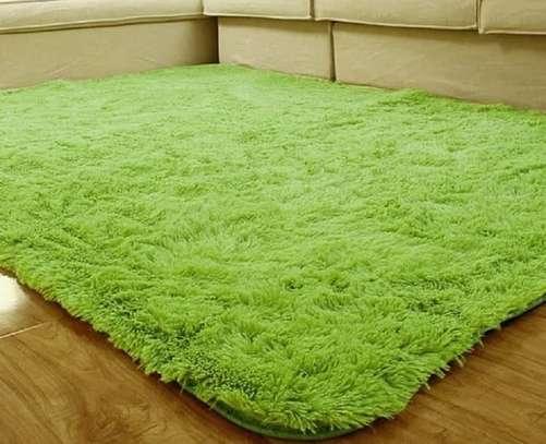 rugs fluffy soft carpet green image 1