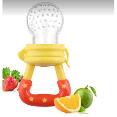 Mom Easy Baby fresh food pacifier / fruit feeder / baby teether - pacifier(random colour) image 1