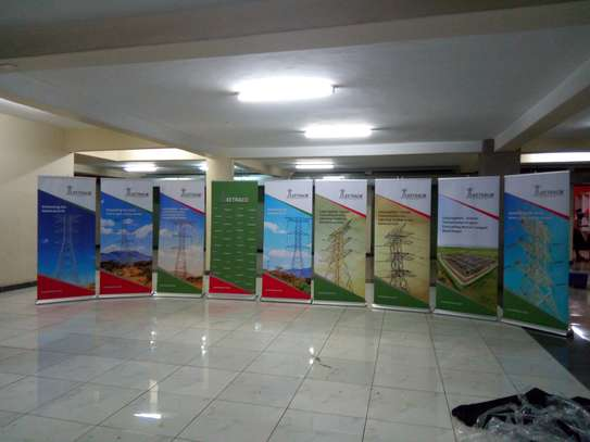 Rollup Banners and Teardrop Banners image 8