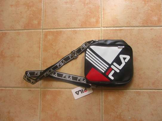 FILA LEATHER OFF SHOULDER BAGS