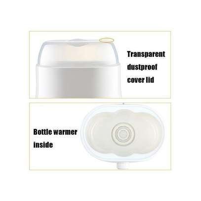 Baby DOUBLE Bottle Milk Warmer Multifunctional Heating Up Food And Sterilizing image 4