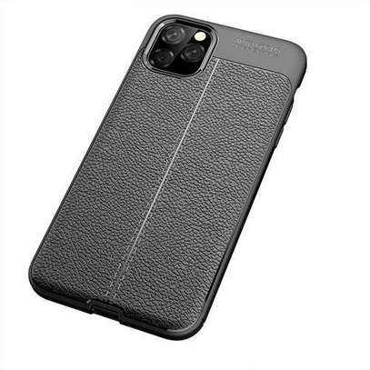 Auto Focus Leather Pattern Soft  Back Case Cover for Apple iPhone 11/11 Pro/11 Pro Max image 2