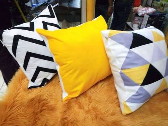 home made throw pillows image 1