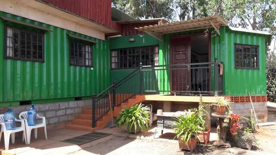 2 Bedroom Container Home and 1 Bedroom cottage on a Freehold Title Deed, 1/4 Acre in Ngong