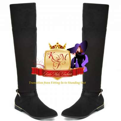 Flat Above Knee Boots image 2