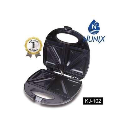 Nunix KJ-102 - Sandwich Maker - Black image 1