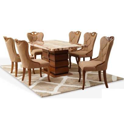 Quinnel Ultra Deluxe Dining Table 6 Or 8 Seater image 2