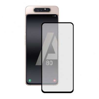5D HD Clear Tempered Glass Front Screen Protector for Samsung A80 image 5