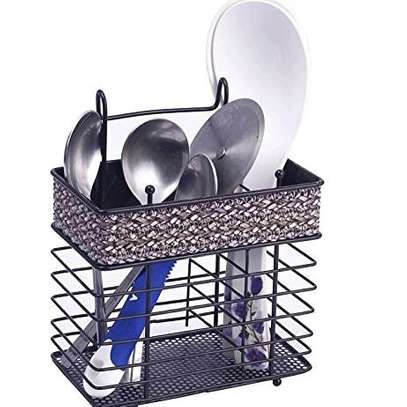 Rectangle spoon holder image 1