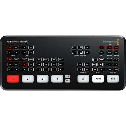 Blackmagic Design ATEM Mini Pro ISO HDMI Live Stream Switcher image 2