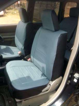 GREY CAR SEAT COVERS image 12