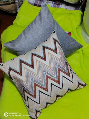 Blended throw pillows image 2