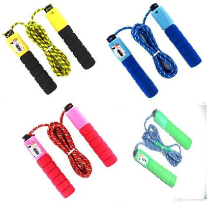 Kids Fitness Exercise Skipping Rope With Counter Jump image 1