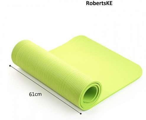 custom plain color anti-slip yoga mat