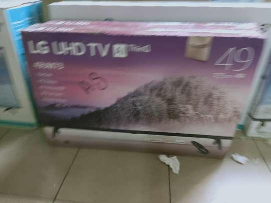 """LG 49 """"smart digital 4k tv image 1"""
