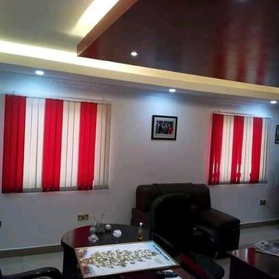 VERTICAL BLINDS  TO COVER UP YOUR OFFICE WINDOWS image 1