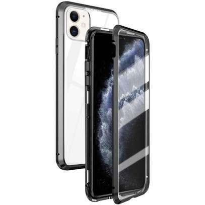 Magnetic Double-sided 360 Full Protection Glass Case for iPhone 11/11 Pro 11 Pro Max image 6
