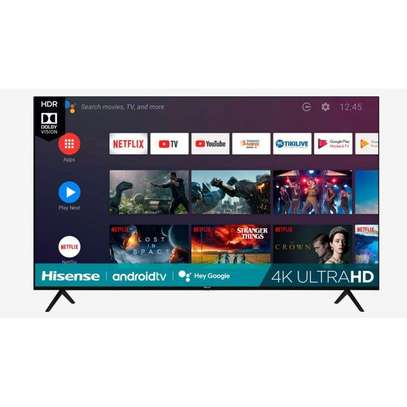 50 inch Hisense Smart UHD 4K Android Frameless TV - 50A7200F - Free Bracket, Delivery and Installation image 1