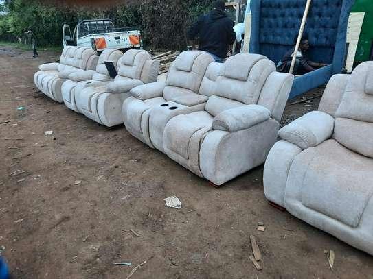 modern reclinerlike 8 seater sofa image 1