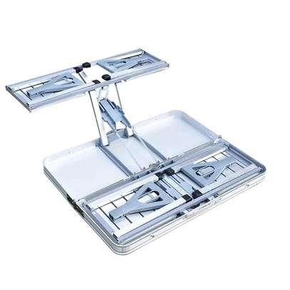 ALUMINIUM PICNIC TABLE * foldable image 2