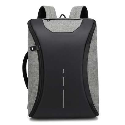 Antitheft Bags With Charging Port - Grey image 1