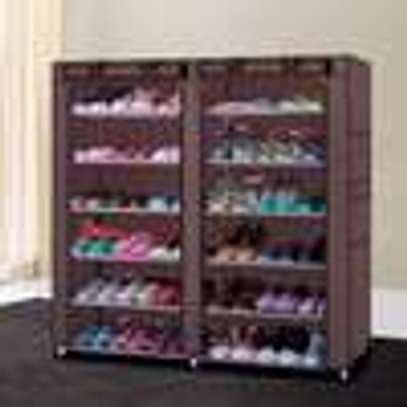 36 PAIRS PORTABLE SHOE RACK image 2