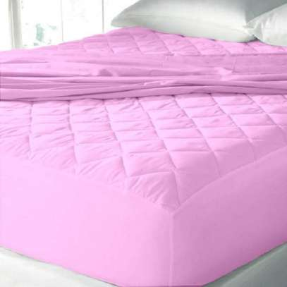 Pink Mattress protector 5 by 6 image 1