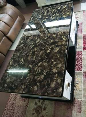 Coffee Table with Glass Top image 1