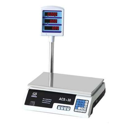 Digital Weight Scale 30KG Price Computing Food Meat Balance.