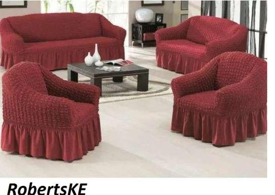 elastic sofa cover 7 sitter image 1