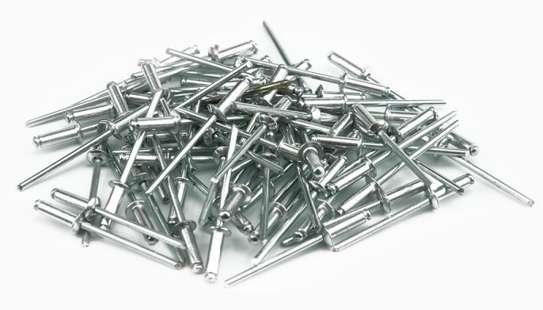 Vorel Aluminium Blind Rivets-250pcs (6.4 x 3.2 mm) image 1