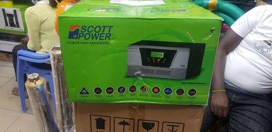 Scott Power 1500va 1.5kva Hybrid Inverter image 1