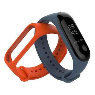 Replacement Silicone Sports Soft Wrist Strap Bracelet Wristband for XIAOMI Mi Band 3/4 image 5
