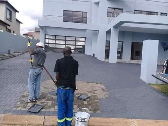 We do Building/Painting/Paving/Roofing/Plumbing/Dry wall/Damp proofing & General Handymen Services image 3
