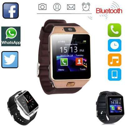 DZ09 SmartWatch for Android and Apple - Bronze image 2