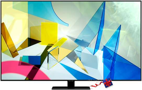 SAMSUNG QA-75Q80TAU FLAT SMART QLED TV: SERIES 8 image 1