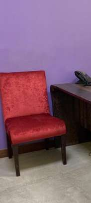 Red office chair image 1