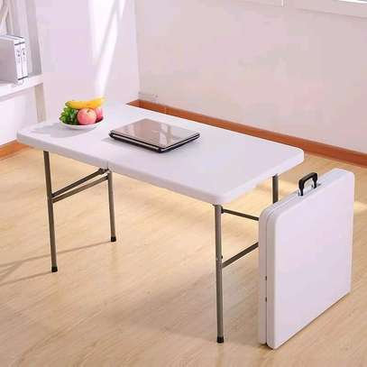 Foldable home/office table image 1