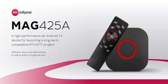 4K Android TV device MAG425A infomir