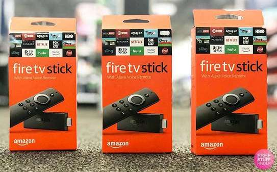 AMAZON FIRE TV STICK 4K WITH NEW ALEXA VOICE REMOTE STREAMING PLAYER, NEW IN BOX image 1