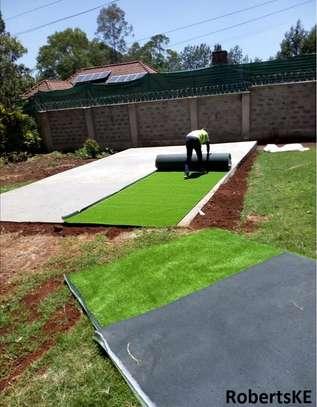 Outdoor artificial grass carpet image 2