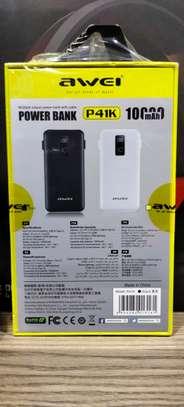 Awei power bank 10000mAh image 2