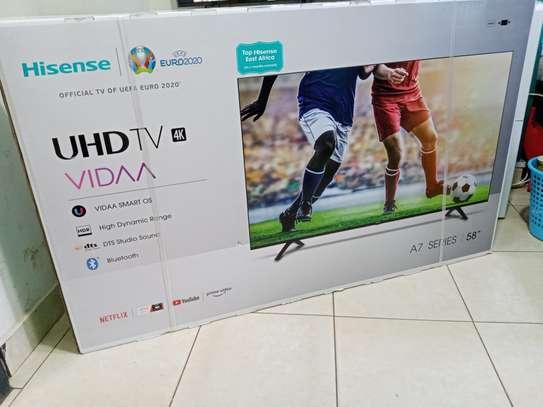 Hisense 58″ Frameless Smart UHD 4K TV + 2 Year Warranty image 1